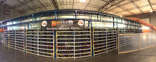 Bitclub Network have a state-of-the-art Bitmine in Iceland.