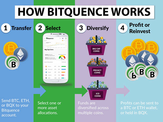 Bitquence (BQX) infographic